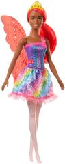Mattel lalka Barbie Magiczna Wróżka - czerwone skrzydła