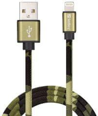 Sandberg USB do Lightning kábel, SYNC + CHARGE, 1 m 441-13, kamufláž