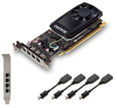 PNY Quadro P1000, 4 GB GDDR5 grafična kartica