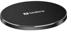 Sandberg Wireless Charger Pad 10 W Alu bezdrátová nabíječka Qi 441-21