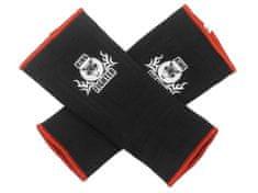 King Fighter Bandáže kotníků černá/červená velikost: XL