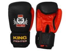 King Fighter Boxerské rukavice BASIC Boxerské rukavice: váha: 10