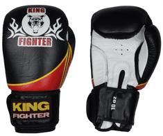 King Fighter Boxerské rukavice VICTORY Boxerské rukavice: váha: 10