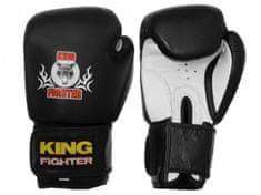 King Fighter Boxerské rukavice King Fighter černé Boxerské rukavice: váha: 10