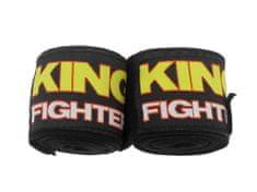 King Fighter Bandáže ČERNÉ KING Fighter