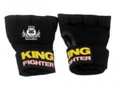 King Fighter Bandáže gelové rukavice velikost: L