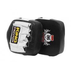 King Fighter Boxerské lapy King Fighter černá/bílá