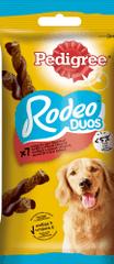 Pedigree pochúťka Rodeo Duos s hovädzinovou a syrovou príchuťou 123 g