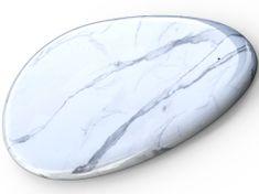 Sandberg Wireless Charger White Marble 10 W bezdrátová nabíječka Qi 441-25