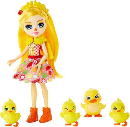 Mattel Enchantimals Család Baba és kacsák