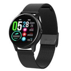 NEOGO DayFit D8, smart hodinky, čierne/kovové