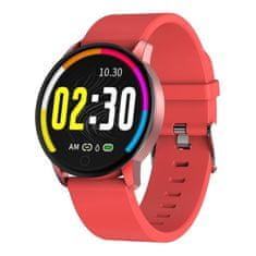 NEOGO SmartWatch QS20, smart hodinky, červené