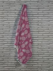 Denizli Concept Plážová osuška ANANAS (ružová).