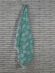 Denizli Concept Plážová osuška ANANAS (zelená)