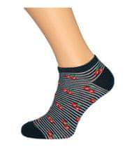 Gemini Dámské vzorované ponožky Bratex 0242