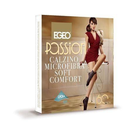 Gemini Dámské ponožky Egeo Passion Microfibra Soft Comfort 60 den odstín béžové univerzální