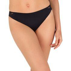 Wonderbra Dámské kalhotky WONDERBRA REFINED GLAMOUR BRAZILIAN - WONDERBRA - černá