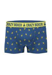 Crazy Boxer Pánské boxerky Crazy Boxer Organic Cotton Ananas A'2