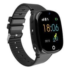 NEOGO SmartWatch AW11, smart hodinky pre deti, čierne