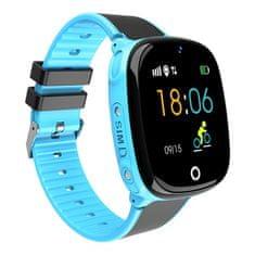 NEOGO SmartWatch AW11, smart hodinky pre deti, modré