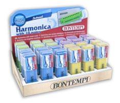 Bontempi Foukací harmonika kovová