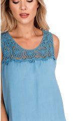 Gemini Dámské šaty s plastickou výšivkou 90858 - New Collection