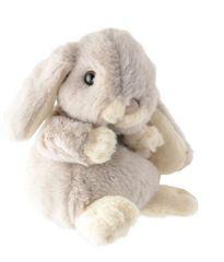 Bukowski Bukowski KANINI zajíc - světle šedý, malý 15 cm