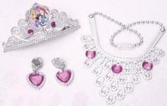 BOLEY Disney princezny - Set s korunkou a šperky pro princeznu