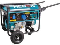 Heron Elektrocentrála se svářečkou 220A, benzínová 14HP, 5,5kW, EWH 220, záruka 3 roky