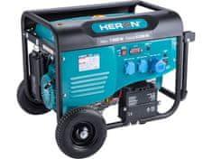 Heron Elektrocentrála benzínová 7,0kW/15HP, pro svařování, el. start, podvozek