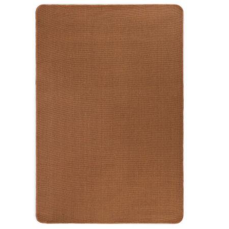 shumee barna juta szőnyeg latex hátoldallal 80 x 160 cm