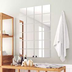 shumee Zrcadlové dlaždice, 24 ks, čtvercové, sklo