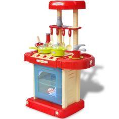 Kuchnia dla dzieci z efektami dźwiękowymi i świetlnymi