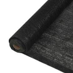 shumee belátásgátló háló, HDPE, 1,5 x 25 m, fekete