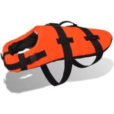 Kamizelka ratunkowa dla psa M pomarańczowa
