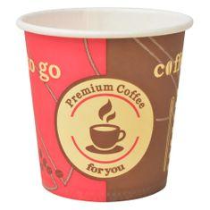 Kubki jednorazowe, papierowe, na kawę 1000 szt., 120 ml (4 oz)