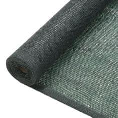 shumee belátásgátló háló, HDPE, 1,5 x 10 m, zöld