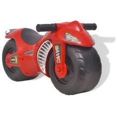 shumee Motocykl - jeździk, plastikowy, czerwony