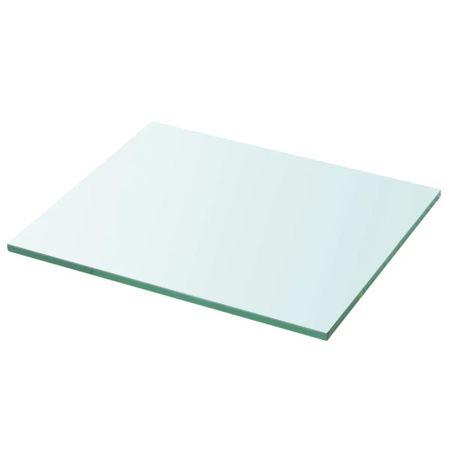 shumee 30x25 cm átlátszó panel üvegpolc