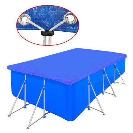 shumee Pokrywa na prostokątny basen, 394 x 207 cm, 90 g/m2