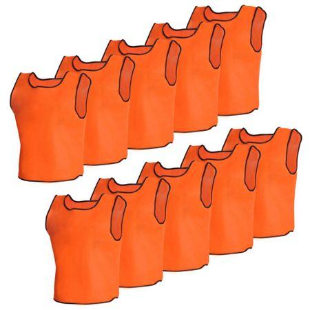 shumee 10 db Narancsszínű Sport Vállpántos Felső Felnőtteknek