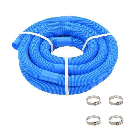 shumee Cev za bazen z objemkami 38 mm 6 m modra