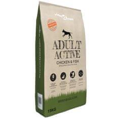 shumee Prémiové suché krmivo pro psy Adult Active Chicken & Fish 15 kg