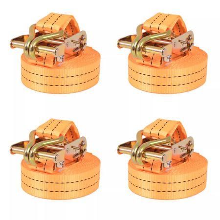 shumee 4 db narancssárga racsnis spanifer 1 tonna 6 m x 38 mm