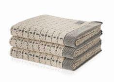 Möve EDEN ručník se vzorem 50x100 cm