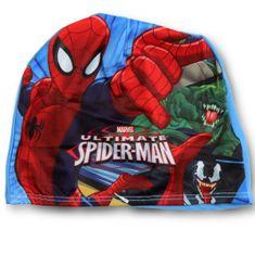SETINO Marvel chlapčenská plavecká čiapka - Spiderman - modrá