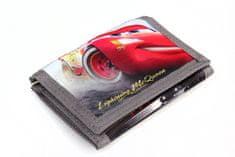 SETINO Detská chlapčenská textilná peňaženka Cars - čierna
