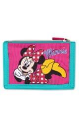 SETINO Detská dievčenská textilná peňaženka Minnie - ružová