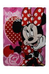 SETINO Disney Flísová deka pre dievča Minnie mouse - 100 x 140 cm