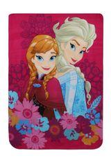 """SETINO Disney Fleecová deka pro dívku - Frozen 2 """"Flower"""" - 100 x 140 cm"""